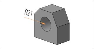 Радиальный размер